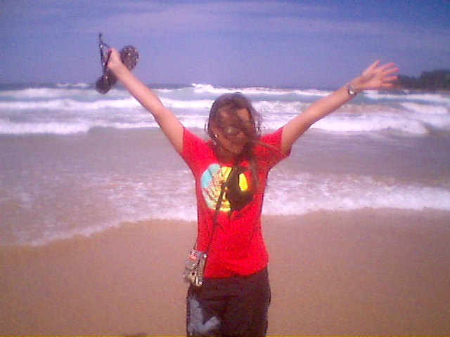 Sheona on Manly Beach