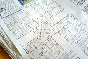 Samurai Sudoku in The Times