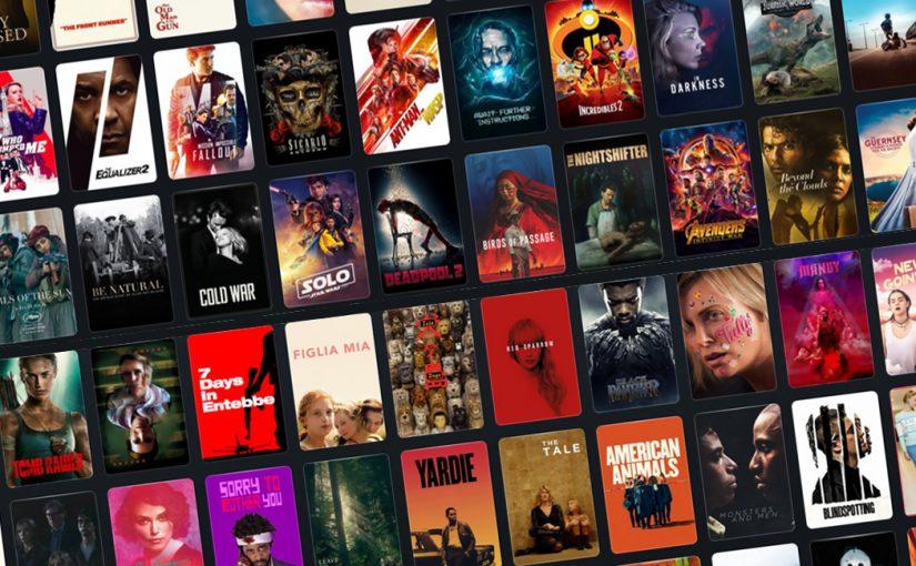 92 films at the cinema in 2018