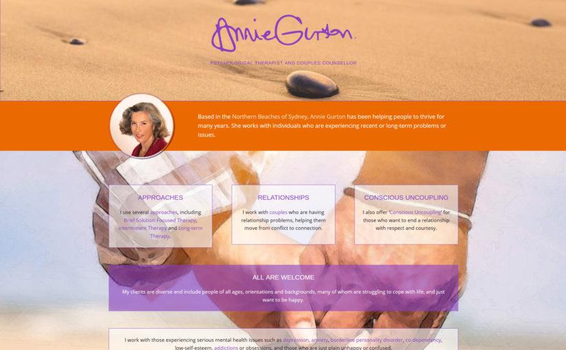 Annie Gurton – Psychological Therapist