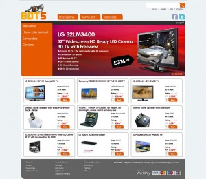 BOT5 website home page