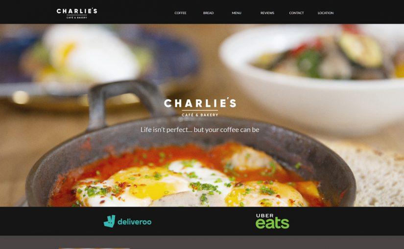 Charlie's Café & Bakery Website