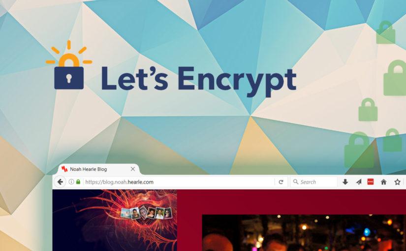 Free HTTPS across the server!