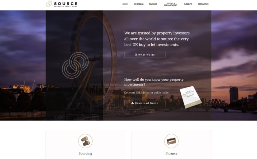 New WordPress website is live: Source Investments