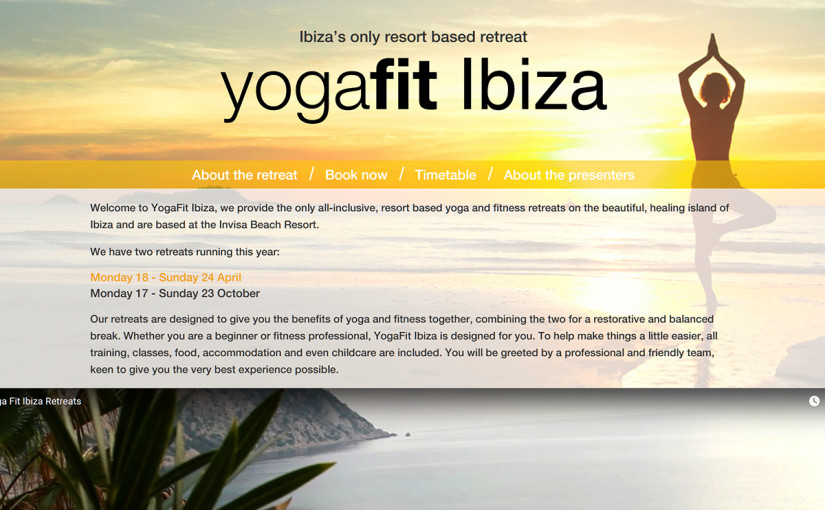 YogaFit Ibiza Responsive Booking Form
