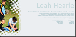 Leah Hearle Website